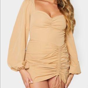 PrettyLittleThing puff sleeve mini dress